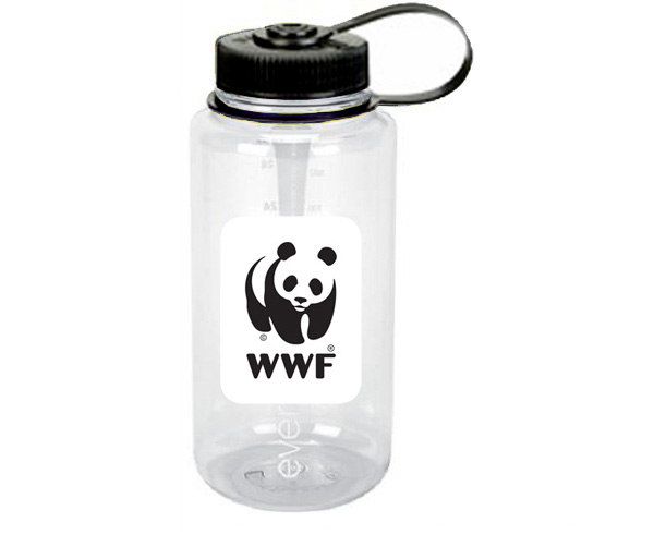 WWF Nalgene 32 oz. Water Bottle & Carabiner