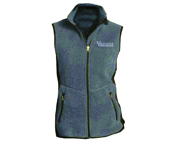 Vantage W's R-Tek Pro Fleece Full-Zip Vest by Port Authority