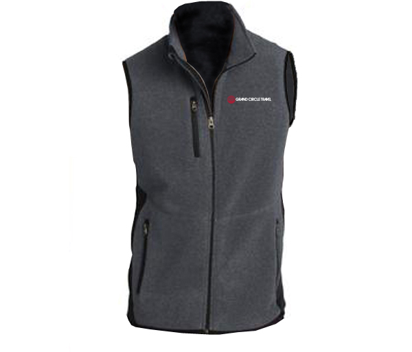 GCT's Men's R-Tek Pro Fleece Full-Zip Vest by Port Authority
