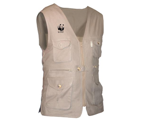 WWF M's Livingstone Safari Vest