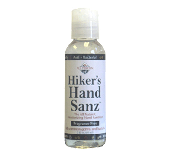 Biodegradable Hikers Hand Sanitizer