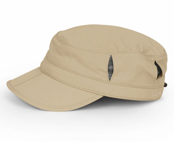 Sun Tripper Cap - Brim Folds in Half