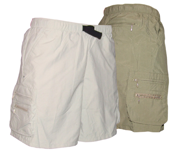 <i>Shorts & Pants</i> - Bay Island Shorts-Secure Pockets-Ladies