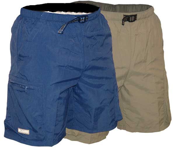 <i>Shorts & Pants</i> - Bay Island Shorts - Secure Pockets - Men
