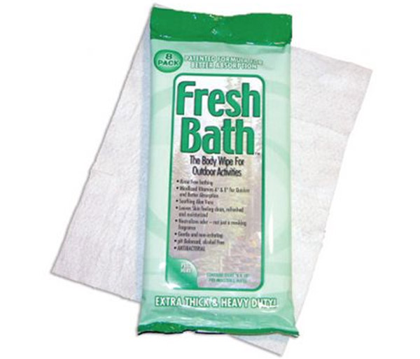 Hygiene & Sanitizers - Fresh Bath Body Wipe