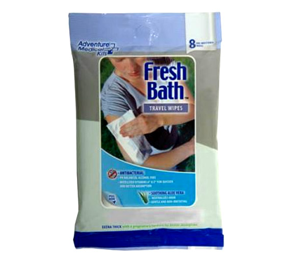 Hygiene & Sanitizers - Fresh Bath Travel Wipes