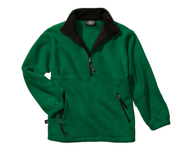 Kid's Adirondack Pullover Fleece by Charles River
