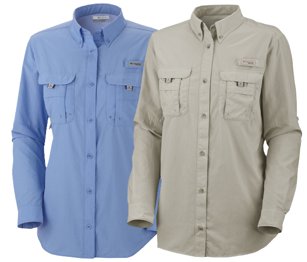 Sun Shirt Colors - Summer Blue and Fossil