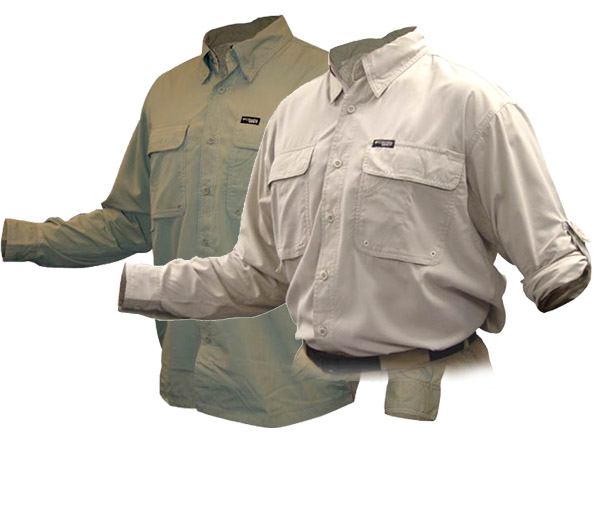 Adventurer Sun Shirt - Men Fossil & Sage
