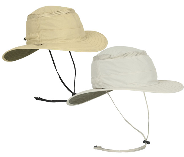Tan & Cream Air Mesh Hats