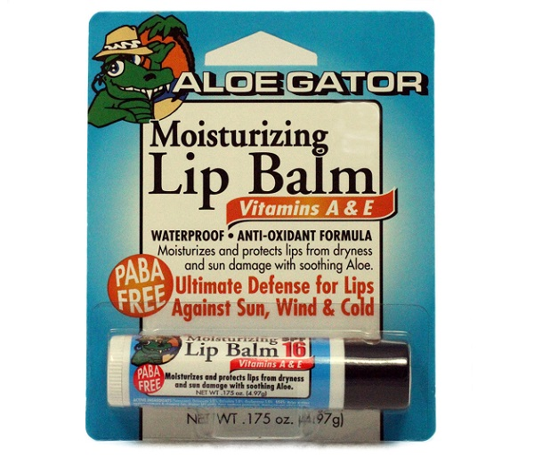 Aloe Gator SPF30 Moisturizing Lip Balm