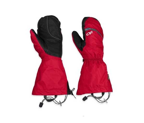 Red Outer Waterproof Mitten