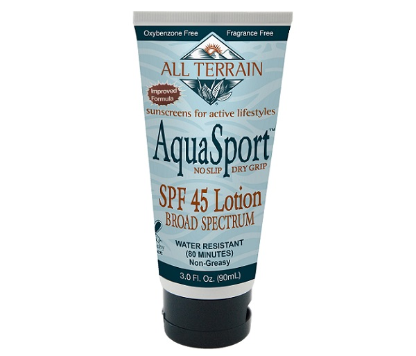 AquaSport SPF 45 Sunscreen w/ Zinc Oxide