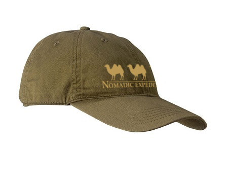 Nomadic Expeditions Organic Cotton Hat by Econscious
