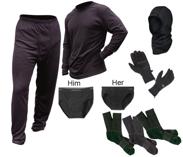 Polar Base Layers Package