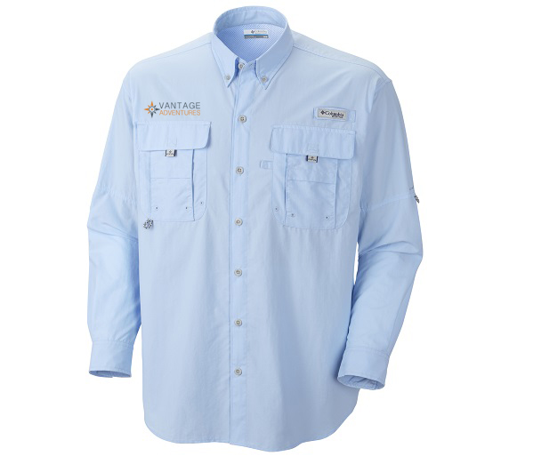 c450bd295e6 Vantage Adventures Mens's Long-sleeve Bahama Shirt by Columbia Click to  enlarge. Sage Sage; Fossil Fossil; Sail Blue