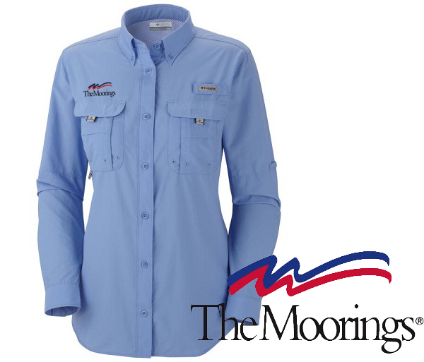 Moorings W's L/S Bahama Shirt by Columbia