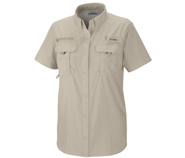 Vantage Adventures Women's SS Bahama Sun Shirt by Colu
