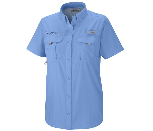 Vantage W's S/S Short-sleeve Bahama Sun Shirt by Columbia
