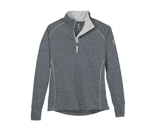 Women's Bamboo 1/2 Zip T-Neck by Storm Creek