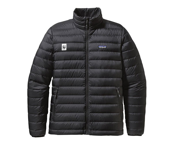 WWF M's Down Sweater by Patagonia