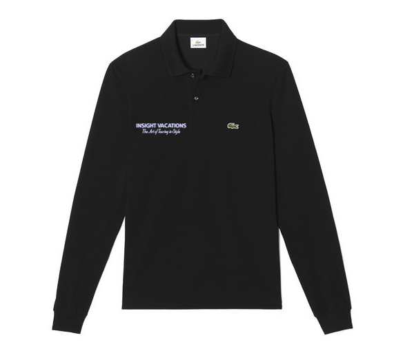 Insight Vacations LACOSTE M's L/S Pique Polo