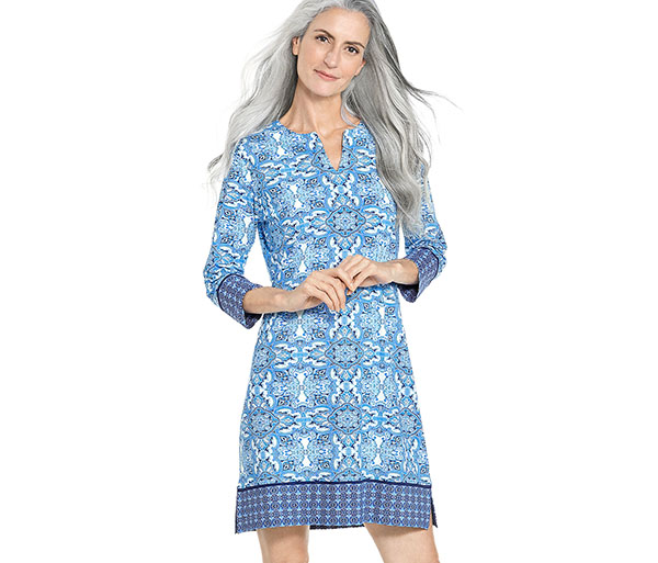 W's Oceanside Tunic Dress by Coolibar