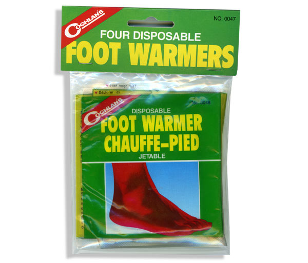 Disposable Foot Warmers by Coghlan