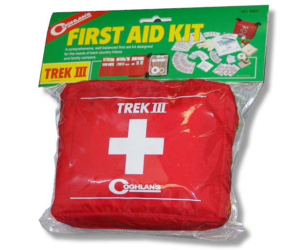 First Aid - Coghlans Trek III First Aid Kit