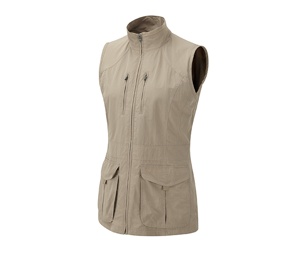 W's Insect Shield Cargo Vest by Craghoppers