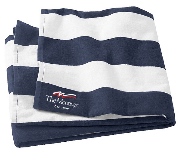 Moorings Cabana Beach Towel