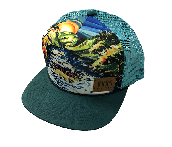 OARS Custom California Trucker Hat