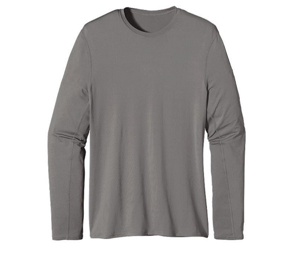 M's UPF Capilene L/S Performance T by Patagonia - On Sale