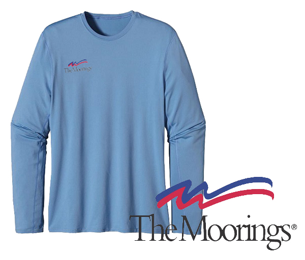 Moorings M's UPF Capilene L/S Performance T by Patagonia