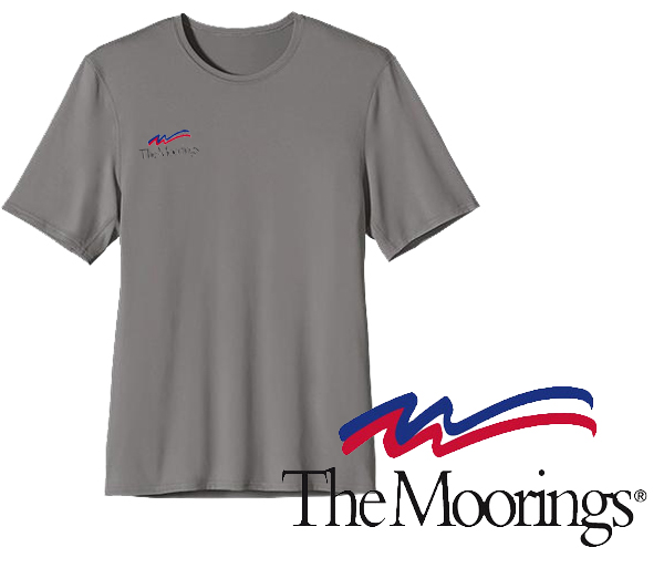 Moorings M's UPF Capilene S/S Performance T by Patagonia