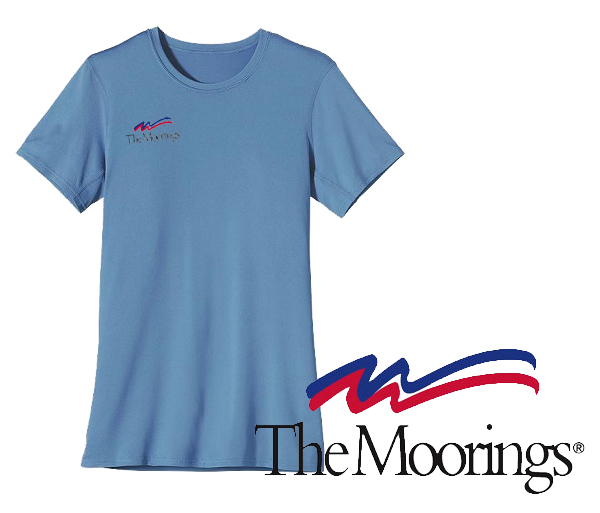 Moorings W's UPF Capilene S/S Performance T by Patagonia