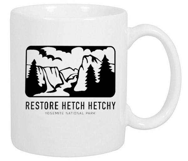 Retro Hetch Hetchy Ceramic Coffee Mug