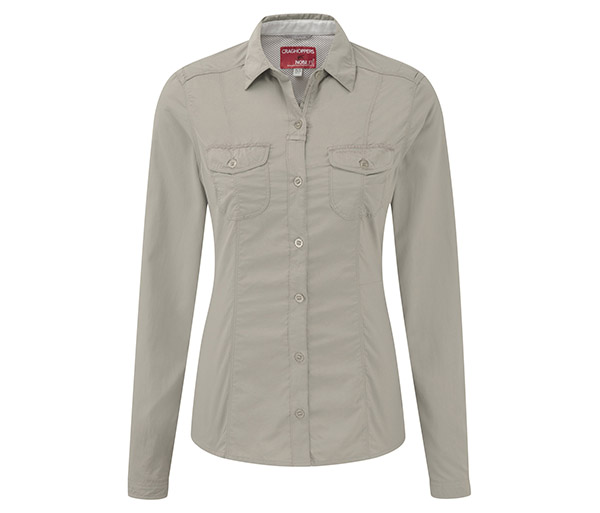 Women's Insect Shield Darla L/S Shirt by Craghoppers