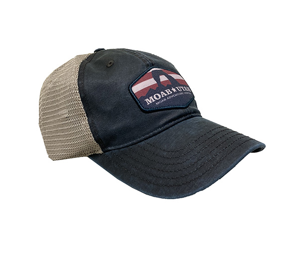 Moab Utah Patriot Hat