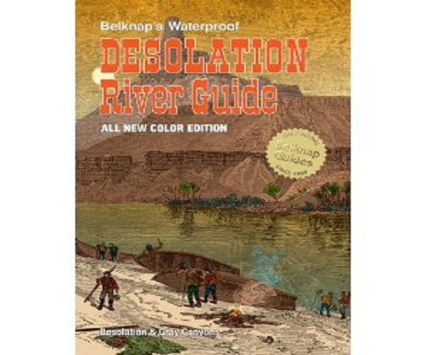 """Best River Guide Books"" - Green River Desolation Canyon"