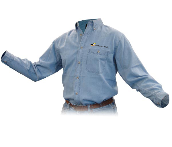 Wilderness Travel's M's Discovery Denim Shirt