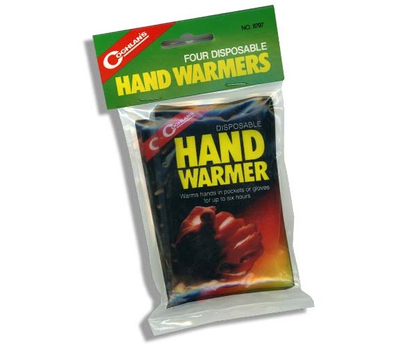 Gloves & Mittens - Coghlans Disposable Hand Warmers