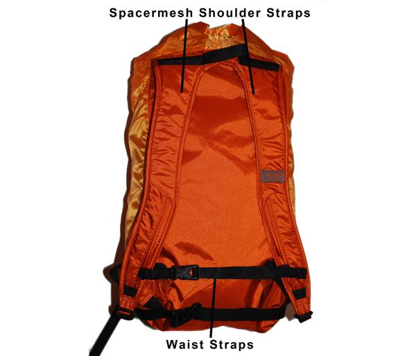 Backside of Pack