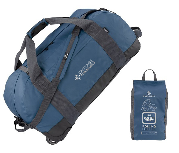 Vantage Adventures Large Rolling SoftSided Duffel by Eagle Creek