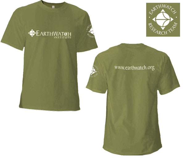 <I>Earthwatch Volunteer T-shirt</i>