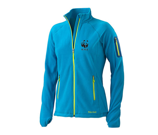 WWF W's Microfleece Jacket by Marmot