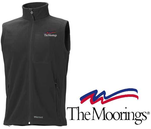 Moorings W's Reactor Polartec 100 Vest by Marmot