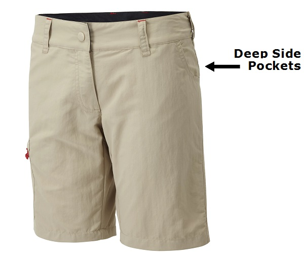 Deep Side Pockets