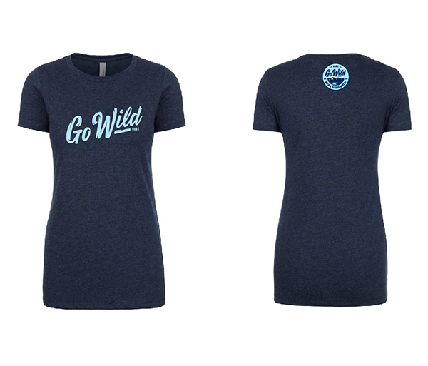 OARS <I>Go Wild</I> T-shirt - On Sale