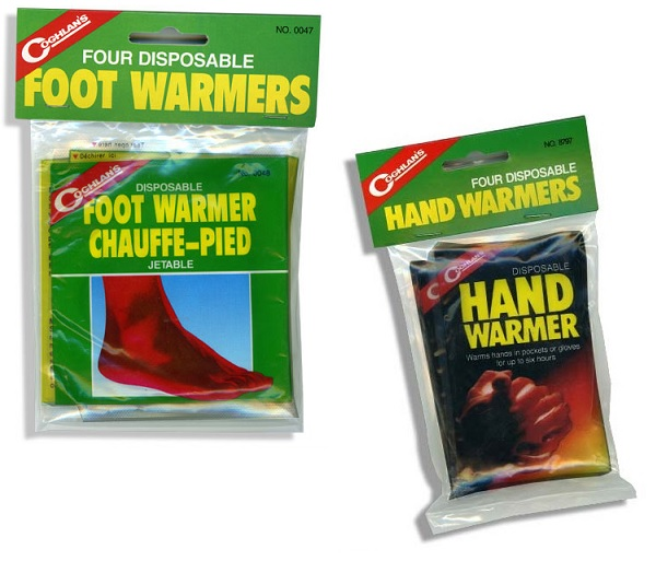 Hand & Foot Warmer Set by Coghlan's